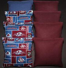 Colorado Avalanche Cornhole Bags Aca Regulation Corn Toss Bean Bags Nhl Fans