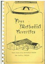 *NEW CASTLE IN VINTAGE *PARK PLACE FREE METHODIST CHURCH COOK BOOK *FAVORITES