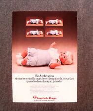 [GCG] N321 - Advertising Pubblicità -1974- BAMBOLE FURGA , AMBROGINA