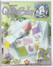 Taddpole QUILTS FOR BABY ~ 7 Projects Tammy Tadd Leisure Arts Quilting Book 3518