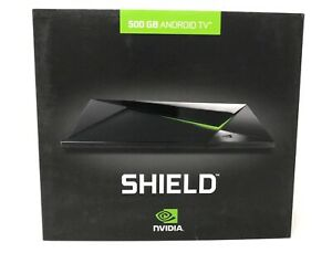 NVIDIA SHIELD TV PRO 500GB Android Gaming TV Console Box Media Server NEW