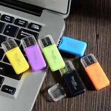 Usb 2.0 Mini Tf Micro Security Digital Memory Card Reader Adapter for Laptop