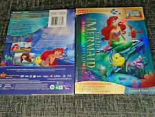 The LITTLE MERMAID Blu-ray+DVD Target Exclusive 32-Page Rare Digibook New&Sealed