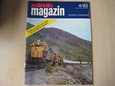 Märklin Magazin Heft 4/1993