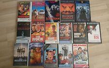 VHS Sammlung, Matrix, Van Damme, Es, Halloween.