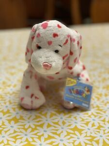Webkinz Valentine's Day LOVE PUPPY HM131 RARE Plush Toy HEARTS Dog Unused Code!