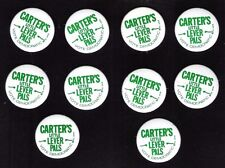Close out sale ! 10 JIMMY CARTER Little Lever Pals litho 1976 campaign buttons
