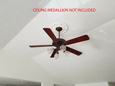 """52"""" Ceiling fan Ellington Premier Copperstone Elp52Cs5 w/light kit + 12"""" downrod"""