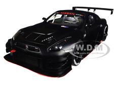 NISSAN GT-R NISMO GT3 MATT BLACK 1/18 MODEL CAR BY AUTOART 81580