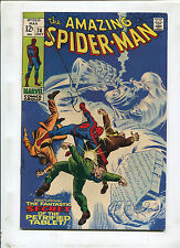 THE AMAZING SPIDER-MAN #74 (7.5) IF THIS BE BEDLAM! 1969