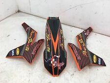 07 08 09 10 12 15 KTM XC SX SXF 65 85 125 250 450 500 FRONT FENDER SIDE #2889