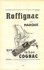 """ADVERT """" Mini Poster """" Vineyard Wine Cognac Roffignac la Marque que porte le bon"""