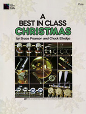 "A Best in Class Christmas FOR ""FLUTE"" MUSIC BOOK-BRAND NEW ON SALE-BAND METHOD!!"