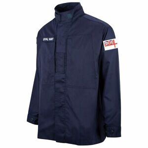 Royal Navy Warm Weather Jacket Shirt Genuine Surplus Polycotton Grade 1