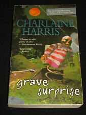 wmf  CHARLAINE HARRIS ~ GRAVE SURPRISE  Harper Connelly Mystery