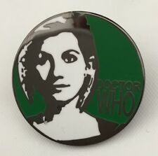 DOCTOR WHO THE 13th DOCTOR SOUVENIR GREEN ENAMEL PIN BADGE - RARE & COLLECTIBLE