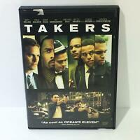 Takers Matt Dillon Paul Walker Idris Elba Chris Brown DVD