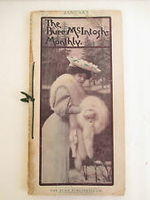 Jan 1906 BURR McINTOSH MONTHLY Magazine; Edison, T Roosevelt, Theatre etc
