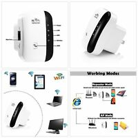 WiFi Range Extender Super Booster 300Mbps Superboost Boost Speed Wireless N2A8