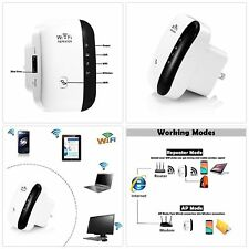 EU WiFi Range Extender Super Booster 300Mbps Superboost Boost Speed Wireles J8P5