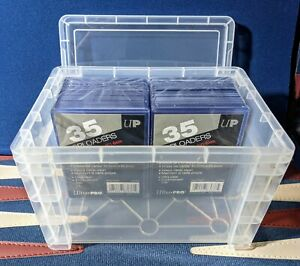 Toploader Storage Vaults - NEW - EACH HOLDS 120 CARDS IN TOPLOADERS *