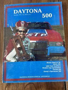1982 Daytona 500 NASCAR Racing Program