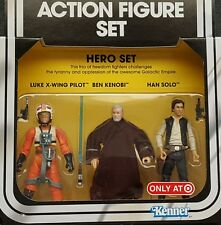 Star Wars Vintage Hero Special Action Figure Set 3-Pack MOC Target Exclusive