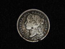1901 Canada 10 Cents - Silver - Victoria