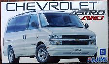 2001 chevrolet astro LT 4wd van, 1:24, 123943 Fujimi