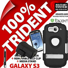 New Trident Kraken AMS Rugged Case for Samsung Galaxy S3 + Mains USB Charger