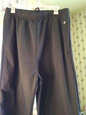 badger Sport gray sweat pants - sz XL - 100% polyester - side pockets - NWOT