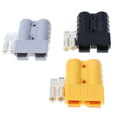 50A Car Battery Quick Connect Wire Plug Disconnect Winch Trailer Connec lsLD Fs