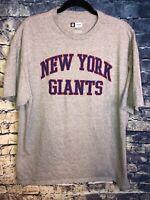 NFL Team Apparel GrayNew York Giants T-Shirt  Size XxL Football Rare🔥🏈wont Las