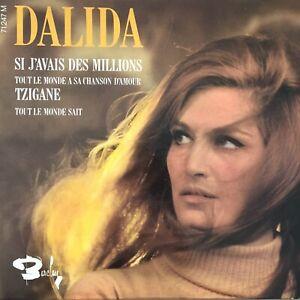 DALIDA: Si j'avais des millions (FR EP Barclay 71 247 / Mono)