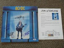 AC/DC Who Made Who Signed Autographed LP Album PSA Certified Angus Malcolm +2