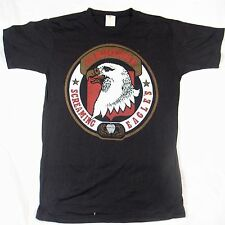 AIRBORNE SCREAMING EAGLES: Vintage Soft Medium T-Shirt Rare Deadstock