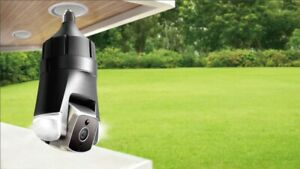 Amaryllo Triton: Fits into light socket / No Cables,  Facial & Fire Recognition