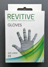 REVITIVE Gloves Original Circulation Booster - LARGE - NEW (SEALED)
