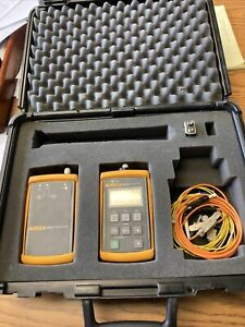 Fluke FTK-200 Fiber Test Kit SET FM150 FS150