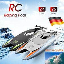 2,4G 2CH 25KM/H High Speed RC Racing Boot Ferngesteuert Elektro Rennboat Schiff