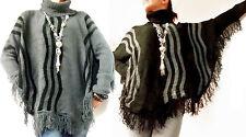 Langarm Damen-Pullover & -Strickware im Ponchos-Stil ohne Verschluss