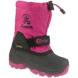 Kamik WATERBUG 5G Stiefel wasserdicht Gore-Tex bis -40°C pink rose Gr.25-31