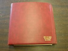 OEM Ford Dealers 1971 Mercury Color Trim Facts Book Comet Cyclone Cougar Montego