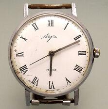 Vintage soviet  wristwatch Luch Slim