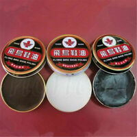 40g Useful Flying Bird Leather Shoe Wax Polish High Gloss Shine 3 Colors