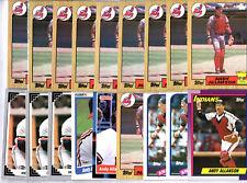 Andy Allanson 43 Card Lot
