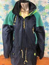 Gerry Large Burlington Vintage Hooded Coat Jacket Nylon Non Insulated A15