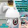 5X Zoom Waterproof WiFi PTZ Pan Tilt 1080P HD Security IP IR Camera Night Vision