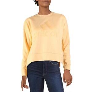 Adidas Womens Comfy Cozy Comfortable Logo Sweatshirt Loungewear BHFO 0365