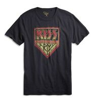 Lucky Brand - NWT - Mens M - Black Kiss Army 100% Cotton Graphic T-Shirt